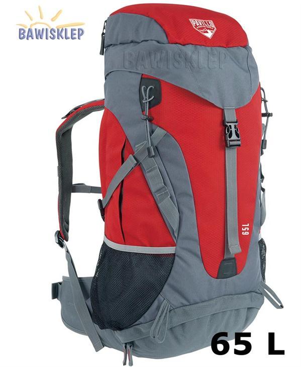 ebecae8dd10d2 Plecak górski DURA-TREK 65L z pokrowcem BESTWAY