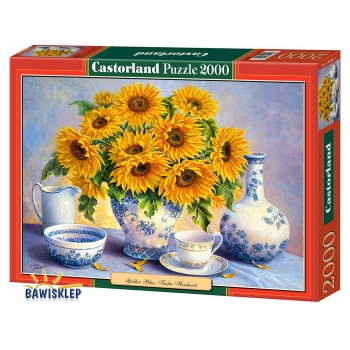 Puzzle 2000 el. Copy of : Golden Blue Castorland