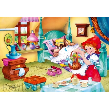 Puzzle 60 el. Little Red Riding Hood Castorland