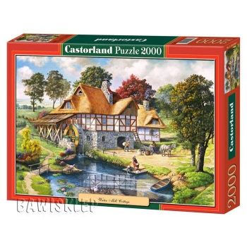 Puzzle 2000 el. Water Mill Cottage Castorland