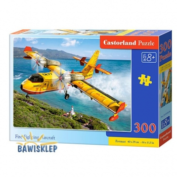 Puzzle 300 Fire Fighting Aircraft Castorland