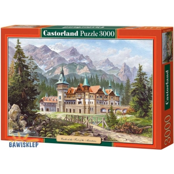 Puzzle 3000 el. Castle at the Foot of the Mountain