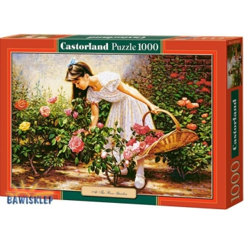 Puzzle 1000 el. At The Rose Garden Castorland