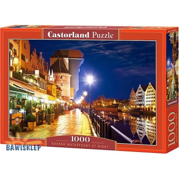 Puzzle 1000 el. Gdańsk Waterfront at Night Castorl