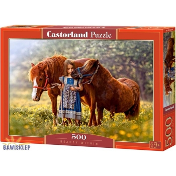 Puzzle 500 el. Beauty Within  Castorland