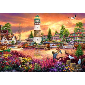 Puzzle 1000 el.  Love Lifted Me  Castorland
