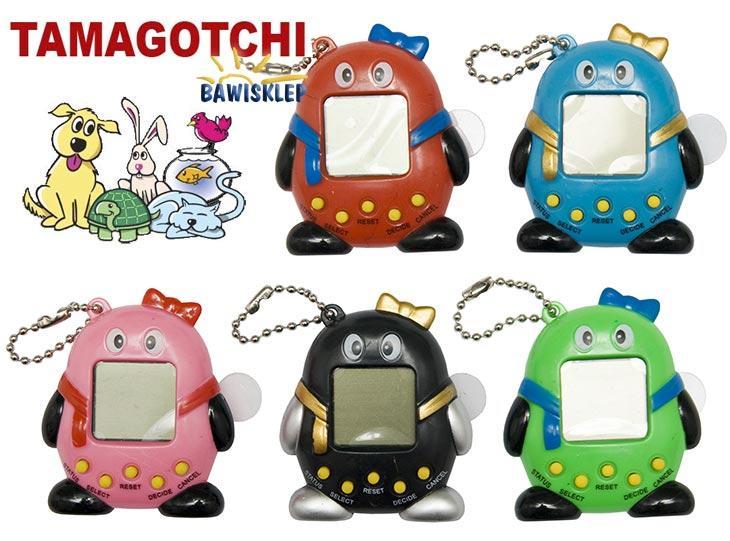 Unikalne Tamagotchi gra elektroniczna - 49 zwierzaków 5 kol QE65